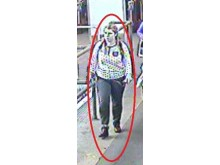 CCTV of Stephanie Tutty at Uxbridge BR