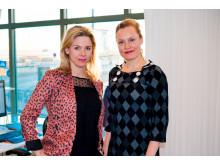 Susanna Liljestam-Heigard och Anette Abel