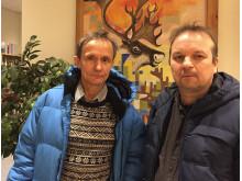 Håkan Jonsson och Lars-Jonas Johansson