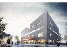 Stadsdelshus med rum för kultur - Selma stad