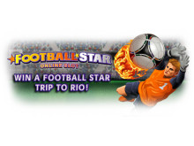 Win a trip to Rio, Brazil to watch the Football Cup Final