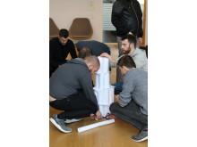 Samarbejdsøvelse papirtårn