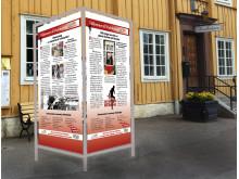 En ny Allan-utställning väntar i Malmköping på onsdag. Den invigs av skådespelaren Robert Gustafsson.