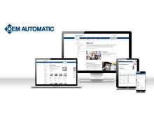 OEM Automatic släpper ny hemsida, för att möta sina kunders digitala behov