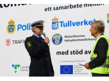 Invigning av alkobom i Göteborg 2013-08-20