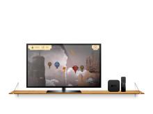 AeroSpin-appen i Apple TV-version
