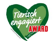 """Logo """"Tierisch engagiert""""-Award"""