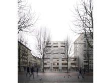 Annex, vinnare arkitekttävling Handelshögskolan i Göteborg