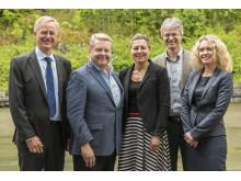 Representanter for Stiftelsen Lillehammer museum og Lillehammer Kunstmuseum