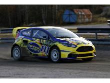 Internationell krydda i RallyX-premiären när Derek Tohill kommer till Skövde