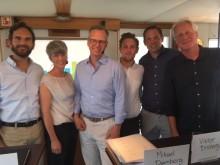 Anders Thulin, Petra Jenning, Mikael Damberg, Viktor Broberg, Emile Hamon, Lars Albinsson
