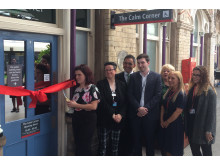 Partners officially open The Calm Corner at Crewe station - June 2019