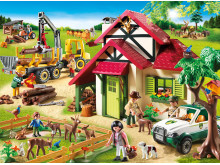 Geschenkidee für Naturfreunde: Spielwelt Forsthaus von PLAYMOBIL