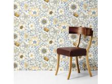 "Wallpaper ""Eldblomman"" by Josef Frank."
