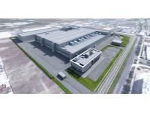 Dyson Produktionsstätte von Elektrofahrzeug Singapur