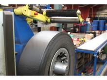 Regummierede dæk sparer resurser og miljø
