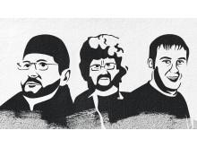 Oyub Titiev, Igor Nagavkin och Andrei Rudomakha.