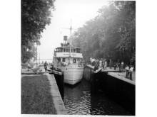 Pressbild - Göta Kanal - m/s Wilhelm Tham historisk bild