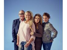 Malena Ernman, Sarah Dawn Finer, Helen Sjöholm & Nils Landgren