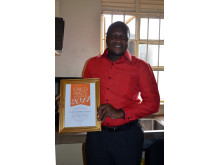 Doctor in charge at health centre recently awarded Child Health Accelerator of the Year 2014
