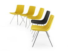 Comet Sport, chairs in a row
