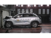 Hyundai NEXO full-width impact
