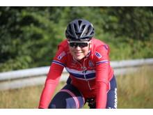 Thea Thorsen under sykkel-EM 2017