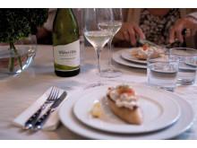 Wither Hills Sauvignon Blanc & Toast Skagen