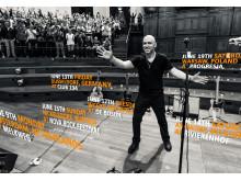 Ed Kowalczyk's Europaturné annonseras med hjälp av svenska wec360°