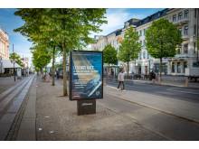 Exponering för Volvo Ocean Race i Göteborg