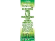 Parkfestival 2016 Banner