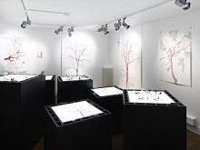 Verklighetens spelplaner av Andera Hvistendahl, P.K.-en utställning om intolerans.