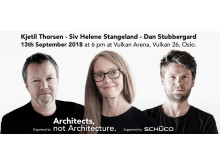 """Architects, not Architecture"" kommer til Oslo"