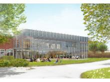 Skiss Matteannexet, Campusplan Lund