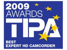 TIPA Awards 2009 Best Expert HD Camcorder - Legria HF S10