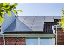 Goda exempel på solceller i Djupadal, Malmö