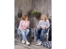 Målade hem – Anja & Filippa med Caparol Färg - Relax