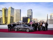 Førerløs A7 piloted driving concept på CES 2015 i Las Vegas
