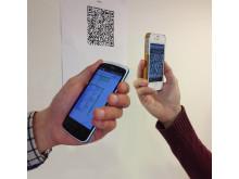 Scanna QR-koder enkelt med mobilen!