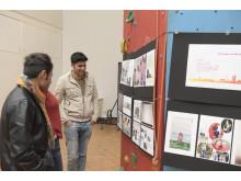 Spendenübergabe Wir Gestalten - Ausstellung