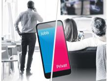 Enklere å bruke jobb-mobilen