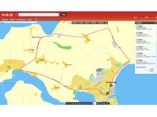 Post Danmark Rundt på Krak.dk - 5. etape