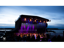 Neuseenland Musikfest - Bühne - Foto: Sebastian Leyser