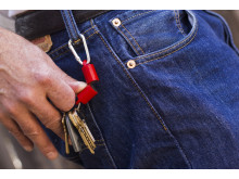 Supermagnet - nyckelknippa