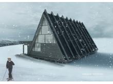 Hemavan Toppstuga - vinter