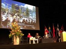 Hammarby sjöstad – förebild när Sweco planerar ny kinesisk kuststad. Bild från konferensen Nordic China Smart City Conference