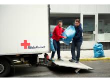 Röda Korsets klädåtervinning
