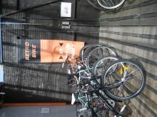 Alla cyklar är säkerhetstestade och rustade med reflexer.