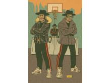 Pressebillede Drawing Hip Hop / Run DMC