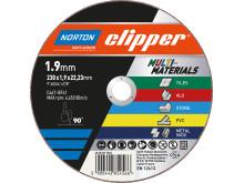 Norton Clipper Multi-Material - Produkt - Kapskiva